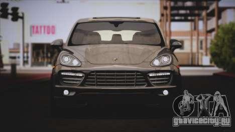 Porsche Cayenne Turbo 2012 для GTA San Andreas вид сбоку