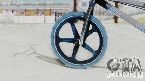 Custom Bike from Bully для GTA San Andreas вид сзади слева