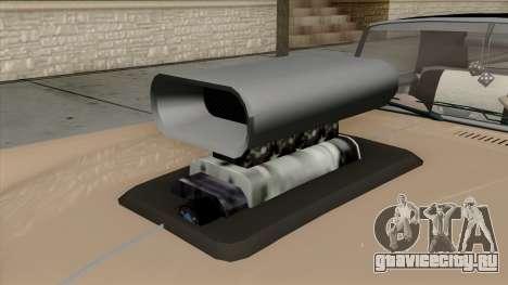 Vapid Peyote Bel-Air для GTA San Andreas вид сзади