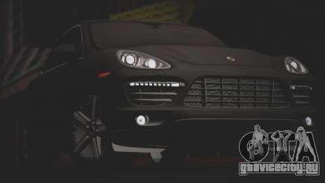 Porsche Cayenne Turbo 2012 для GTA San Andreas салон