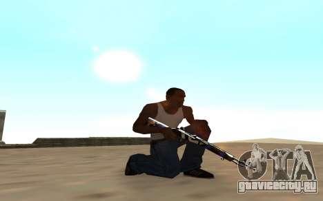 Rifle с тигрёнком для GTA San Andreas второй скриншот