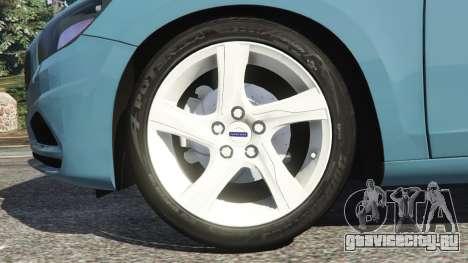 Volvo S60 [Beta] для GTA 5 вид сзади справа