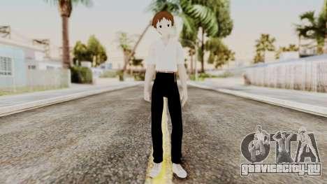 Shinji Ikari (Evangelion) для GTA San Andreas второй скриншот