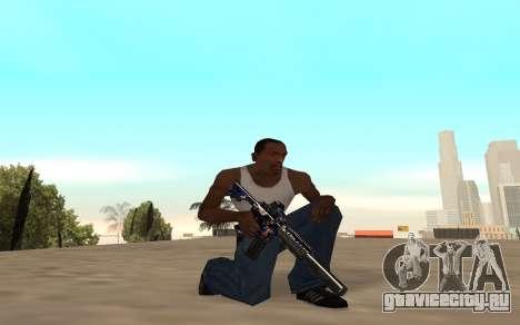 M4 c тигрёнком для GTA San Andreas пятый скриншот