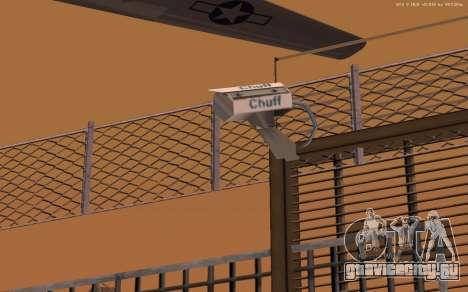 Новая военная база В1.0 для GTA San Andreas шестой скриншот