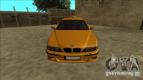 1999 BMW 530d E39 Taxi для GTA San Andreas вид справа
