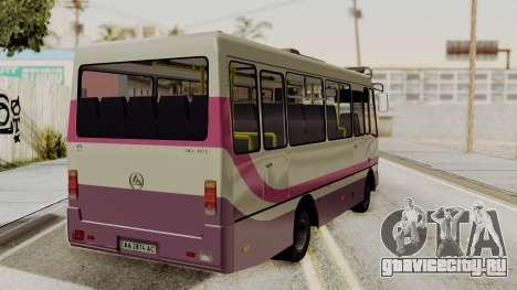 БАЗ A079.07 Эталон для GTA San Andreas вид слева