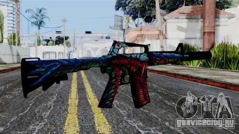 M4A1-S Hyper Beast для GTA San Andreas второй скриншот