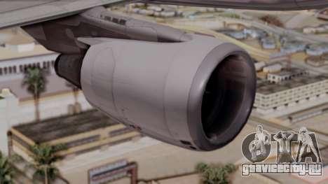 Airbus A320-200 Iraqi Airways для GTA San Andreas вид сзади