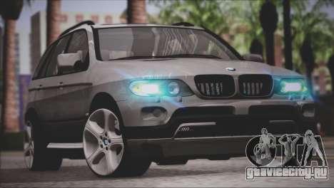 BMW X5 E53 для GTA San Andreas вид слева