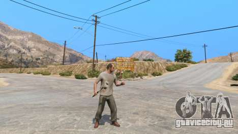 Молот Шао Кана из Mortal Kombat для GTA 5 второй скриншот