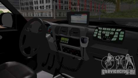 Chevrolet Blazer 2010 для GTA San Andreas вид сзади