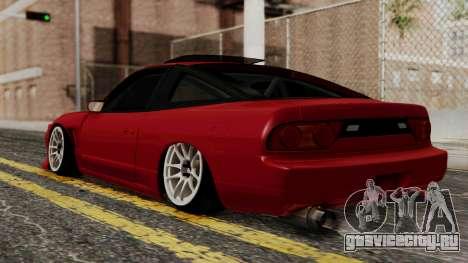 Nissan Silvia Odyvia для GTA San Andreas вид слева