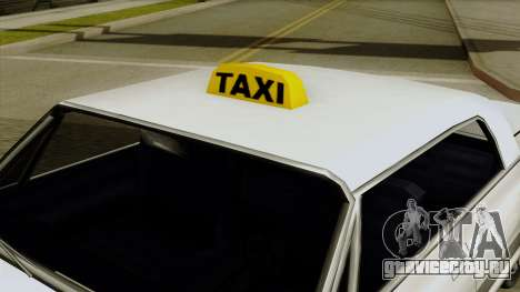 Taxi-Savanna для GTA San Andreas вид справа