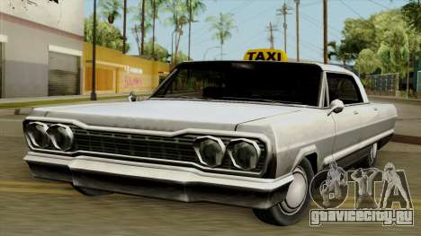 Taxi-Savanna для GTA San Andreas
