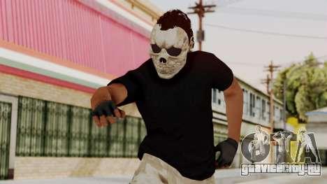 Skin DLC Ultimo Equipo En Pie для GTA San Andreas