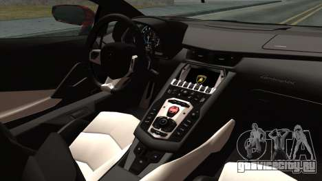 Lamborghini Aventador LP-700 Batik для GTA San Andreas вид справа