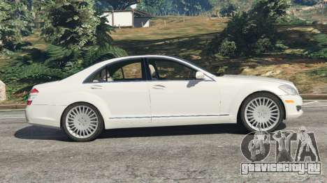 Mercedes-Benz S550 W221 v0.5 [Alpha] для GTA 5 вид слева