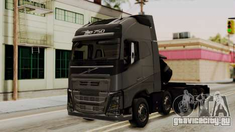 Volvo FH Euro 6 10x4 Exclusive High Cab для GTA San Andreas