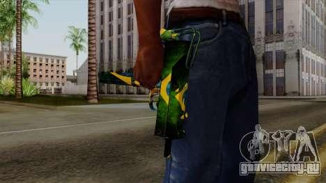 Brasileiro Micro Uzi v2 для GTA San Andreas третий скриншот