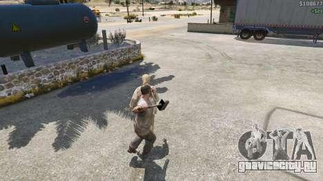 Молот Шао Кана из Mortal Kombat для GTA 5 пятый скриншот