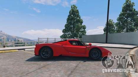 Ferrari Enzo v0.5 для GTA 5 вид слева