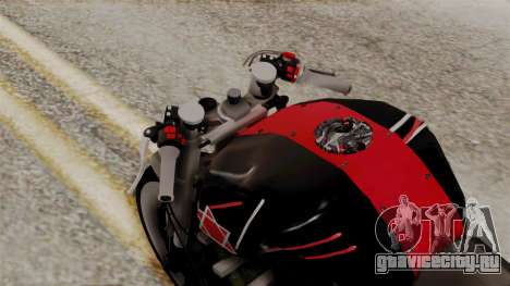 Byson Street Fighter для GTA San Andreas вид сзади