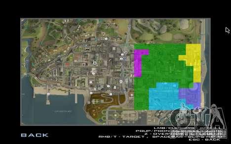 HD карта для Diamondrp для GTA San Andreas четвёртый скриншот