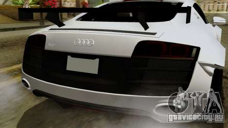 Audi R8 v1.0 Edition Liberty Walk для GTA San Andreas вид сбоку
