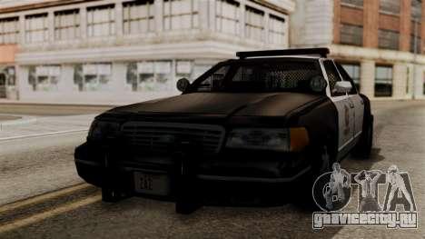 Ford Crown Victoria LP v2 LSPD для GTA San Andreas