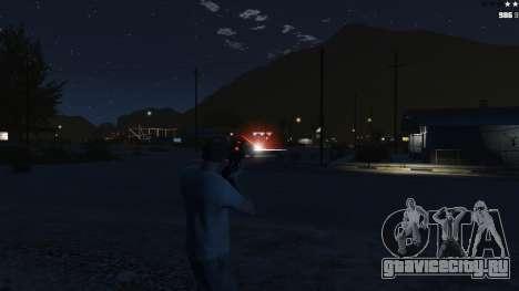 Laser Rocket Mod V5 для GTA 5 четвертый скриншот