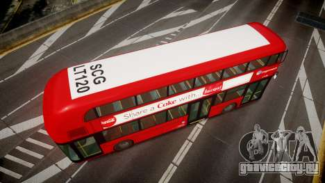 Wrightbus New Routemaster Stagecoach для GTA 4 вид справа
