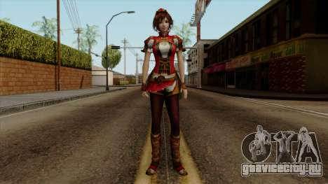 Shin Sangoku Musou 8 - Sun ShangXiang для GTA San Andreas второй скриншот