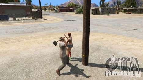 Молот Шао Кана из Mortal Kombat для GTA 5 седьмой скриншот