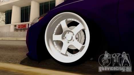 Honda CRZ Hybrid для GTA San Andreas вид сзади слева
