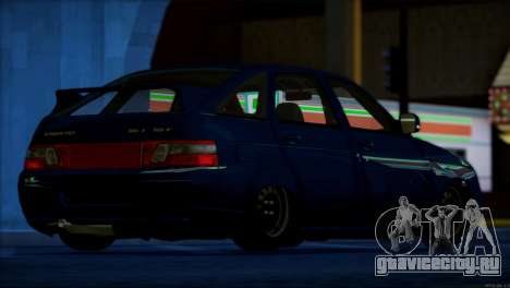ВАЗ 2112 Качественный Сток для GTA San Andreas салон