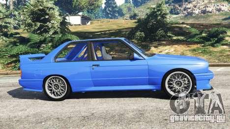 BMW M3 (E30) 1991 для GTA 5 вид слева