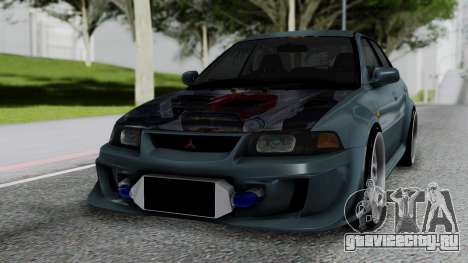Mitsubishi Lancer Evolution Turbo для GTA San Andreas