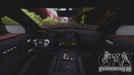 Toyota Land Cruiser 200 для GTA San Andreas салон