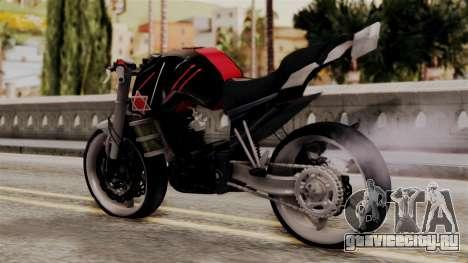 Byson Street Fighter для GTA San Andreas вид слева