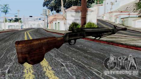DP LMG from Battlefield 1942 для GTA San Andreas второй скриншот