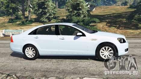 Chevrolet Caprice LS 2014 для GTA 5 вид слева