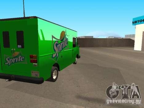 Boxville Sprite для GTA San Andreas вид слева