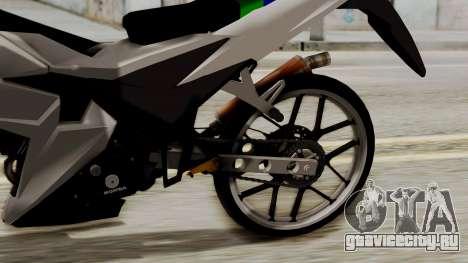 Sonic 150R Custom для GTA San Andreas вид сзади
