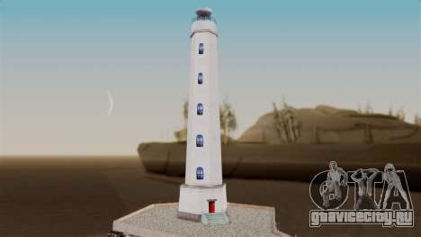 LS Santa Maria Lighthouse для GTA San Andreas