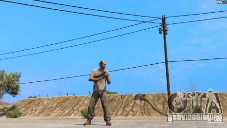 P-90 из Battlefield 4 для GTA 5 второй скриншот