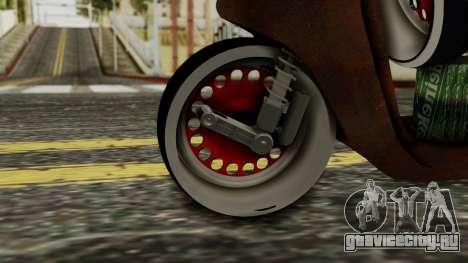 Zip SP Rat Style для GTA San Andreas вид сзади слева