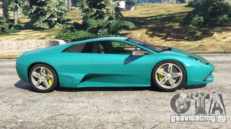 Lamborghini Murcielago LP 640 v0.5 для GTA 5 вид слева