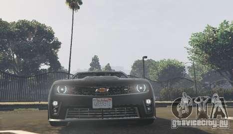 Chevrolet Camaro zl1 2013 для GTA 5
