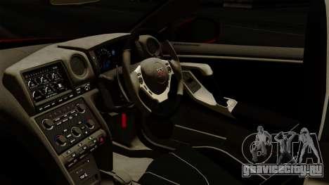 Nissan GT-R Liberty Walk Performance для GTA San Andreas вид справа